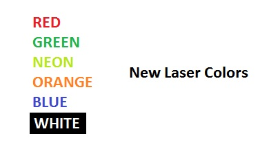 New Laser Colors